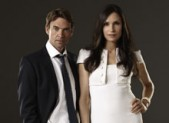 Dougray Scott and Famke Janssen