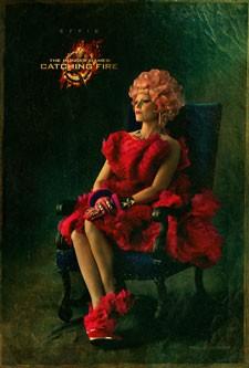 Elizabeth Banks as Effie in Catching Fire