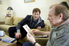 Chris O'Dowd and Michael McKean in Family Tree