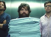 Bradley Cooper, Zach Galifianakis, Ed Helms in The Hangover 3