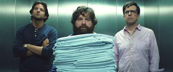 Bradley Cooper, Zach Galifianakis, Ed Helms in The Hangover 3