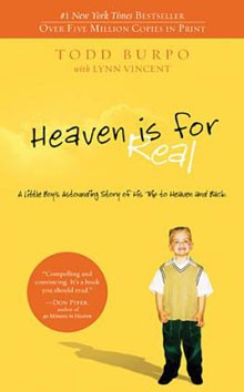Heaven is for Real Book Cover