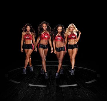 Hit the Floor Cheerleaders Photo