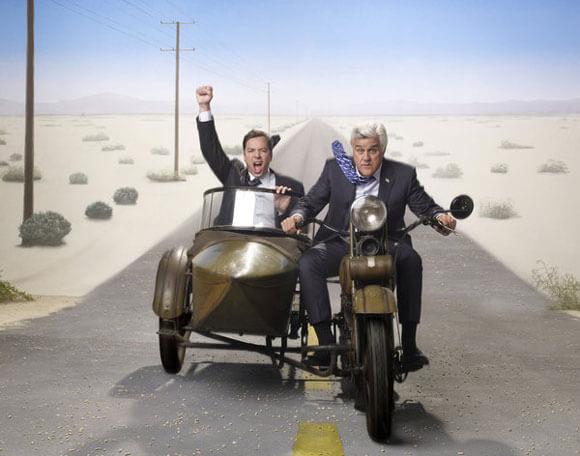 Jimmy Fallon and Jay Leno