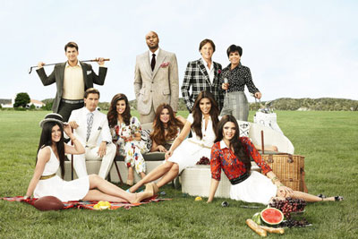 Keeping Up With the Kardashians 2013 Cast Photo