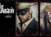 Armie Hammer and Johnny Depp star in The Lone Ranger