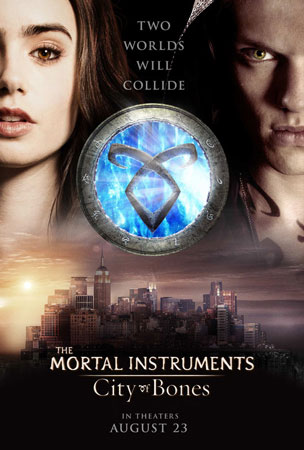 The Mortal Instruments City of Bones 2nd Poster