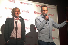 Owen Wilson and Vince Vaughn at 2013 CinemaCon