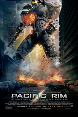 Pacific Rim Vertical Poster