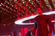 Chris Pine stars in Star Trek Into Darkness