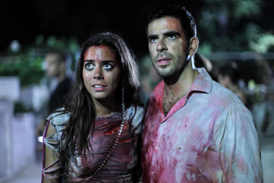 Eli Roth in Aftershock