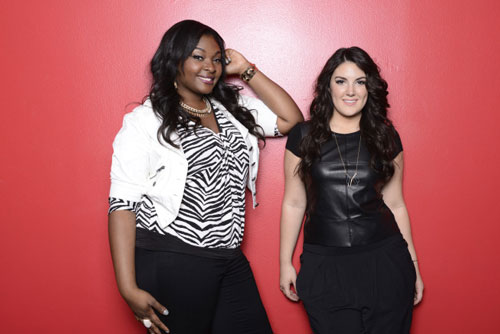 'American Idol' finalists Candice Glover and Kree Harrison
