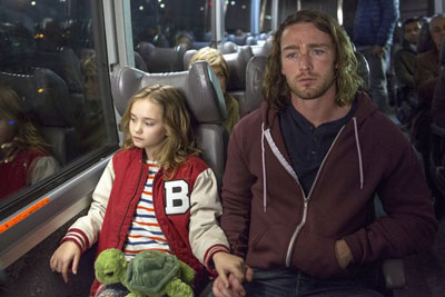 Johnny Sequoyah as Bo and Jake McLaughlin as Tate in 'Believe'