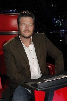 'The Voice' coach Blake Shelton