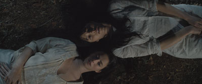 Kaya Scodelario and Jessica Biel in 'Emanuel and the Truth about Fishes'