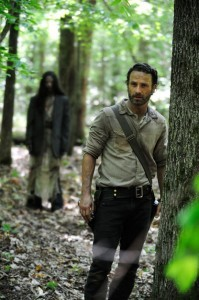 Rick Grimes (played by Andrew Lincoln) in 'The Walking Dead'