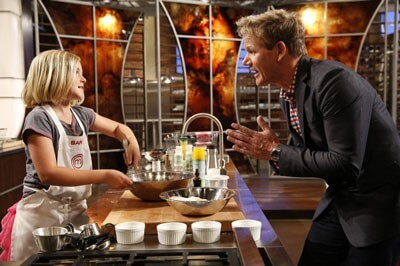 Gordon Ramsay on Junior Masterchef