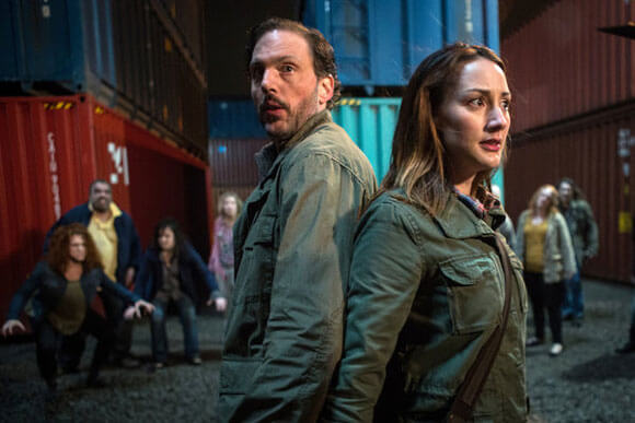 Silas Weir Mitchell as Monroe and Bree Turner as Rosalee Calvert in 'Grimm'