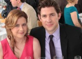 Jenna Fischer and John Krasinski in 'The Office'