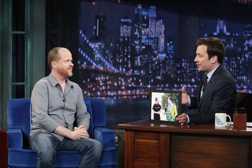 Joss Whedon and Jimmy Fallon