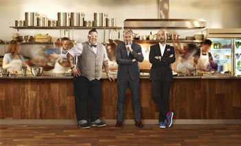 Masterchef Gordon Ramsay, Joe Bastianich and Graham Elliot