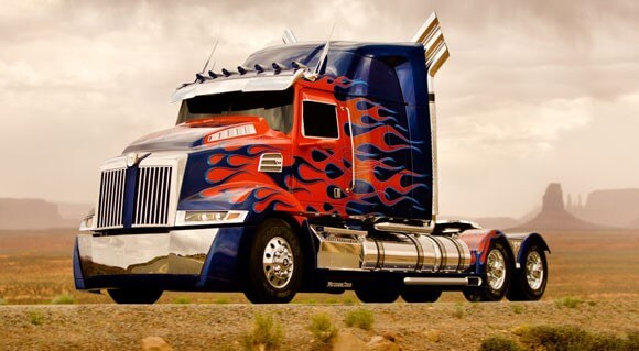 Optimus Prime from Transformers 4