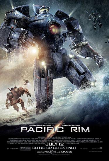 Pacific Rim Robots Poster