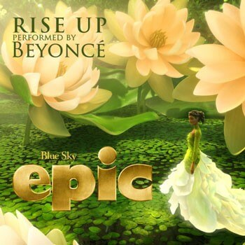 'Rise Up' by Beyonce Cover Art