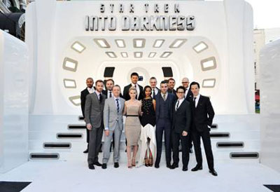 Star Trek Into Darkness Cast at the London Premiere