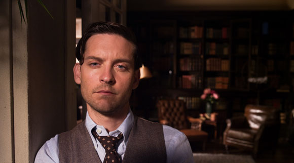 Tobey Maguire in The Great Gatsby