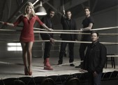 Shakira, Usher, Carson Daly, Adam Levine, Blake Shelton from 'The Voice'