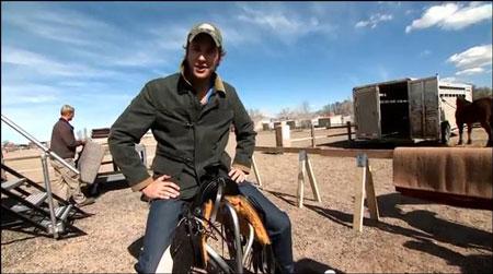 Armie Hammer The Lone Ranger Cowboy Bootcamp