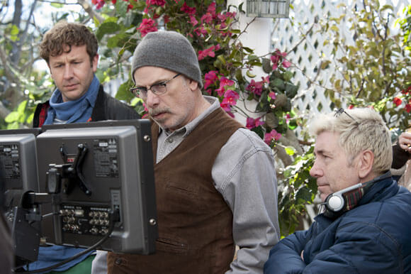 Chris O'Dowd, Christopher Guest, and Jim Piddock on Family Tree