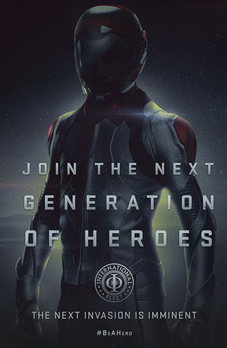 Ender's Game Join the Next Generation Poster