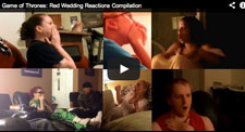 Game of Thrones Red Wedding Fan Reaction