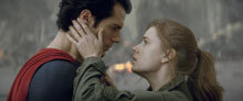 Henry Cavill and Amy Adams in Man of Steel
