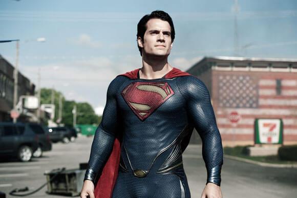 Henry Cavill as Superman in 'Man of Steel'