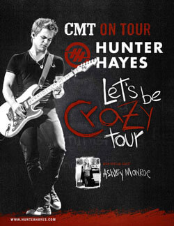 Hunter Hayes Let's Be Crazy Tour