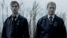 Matthew McConaughey and Woody Harrelson in True Detective