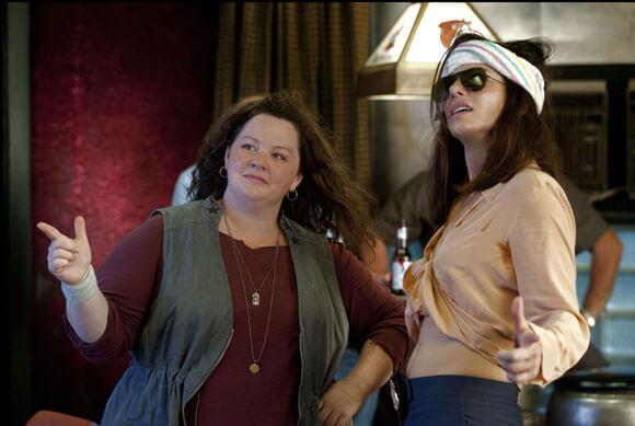 Melissa McCarthy and Sandra Bullock in 'The Heat'