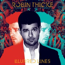 Robin Thicke Blurred Lines Album