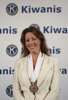 Sarah McLachlan honored by Kiwanis