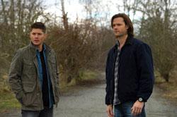 Jensen Ackles and Jared Padalecki in Supernatural
