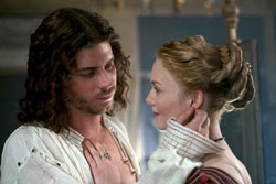 Francois Arnaud and Holliday Grainger in 'The Borgias'