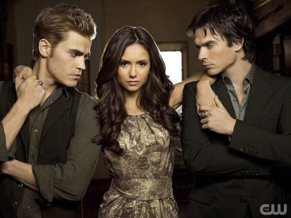 The Vampire Diaries Cast 2013 Comic Con