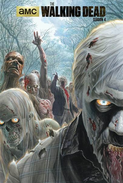 Alex Ross' The Walking Dead Season 4 Poster