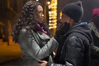 Jennifer Hudson and Jacob Latimore in 'Black Nativity'