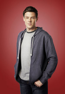 Cory Monteith as Finn in 'Glee'