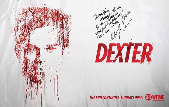 Dexter Comic Con Message