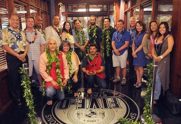 Hawaii Five O Cast Blessing
